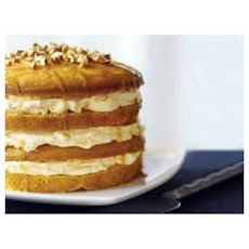 Luscious Four-Layer Pumpkin Cake