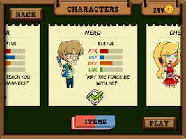 Screenshot of High School Fighter - The Game