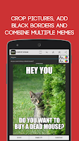 Screenshot of Meme Generator Free