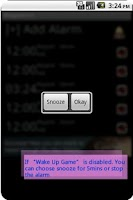 Screenshot of Mega Alarm Free