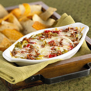 Chile and Chorizo Cheese Dip
