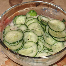 German Cucumber Dressing