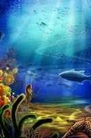 Screenshot of Beautiful Sea Aquarium Lwp