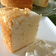 Thai Inspired Angel Food Cake With Coconut Lime Whipped Cream
