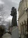 Statue of St. Anton of Padua