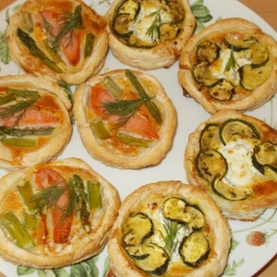 Mini Quiches Met Courgette En Geitenkaas