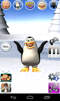 Screenshot of Sweet Talking Penguin Deluxe