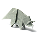 Origami Dinosaur 3 icon