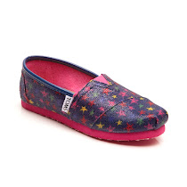 Toms Glitter Stars SHOES
