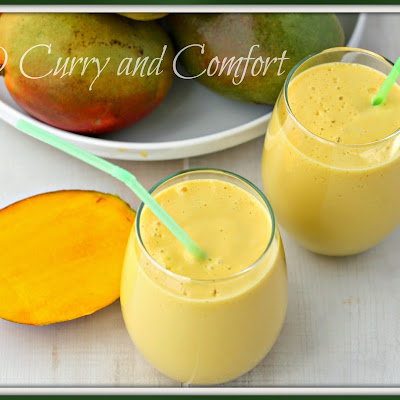 Mango Lassi (Mango Smoothie)- Throwback Thursday