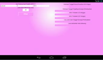 Screenshot of Kehamilan dan Masa Subur