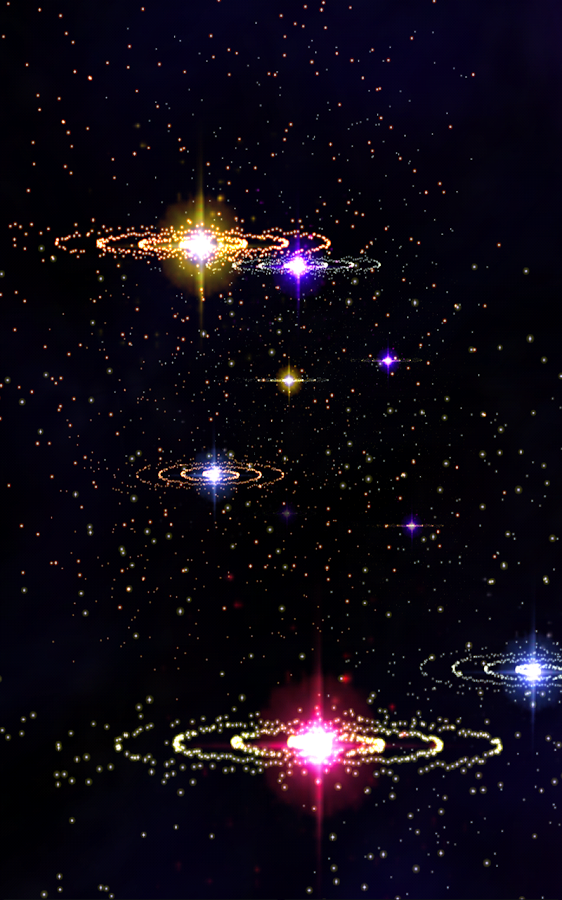 3D Stars Music Visualizer Screenshot 4