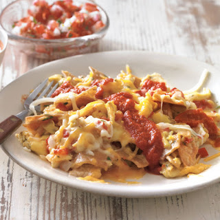Texas-Style Migas with Ranchero Sauce