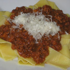 Delicious Veal and Pork Bolognese Sauce
