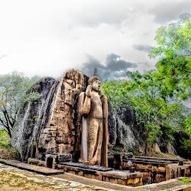 The Avukana statue  by Kasun Priyadarsana - Buildings & Architecture Statues & Monuments
