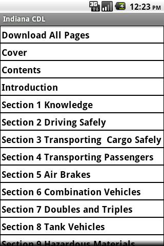 Indiana CDL Manual