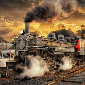 Mallet 2-6-6-2 by Nickel Plate Photographics - Transportation Trains