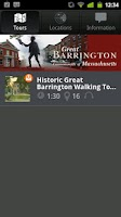 Screenshot of Great Barrington Tours