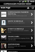 Screenshot of Copenhagen Fashion Week