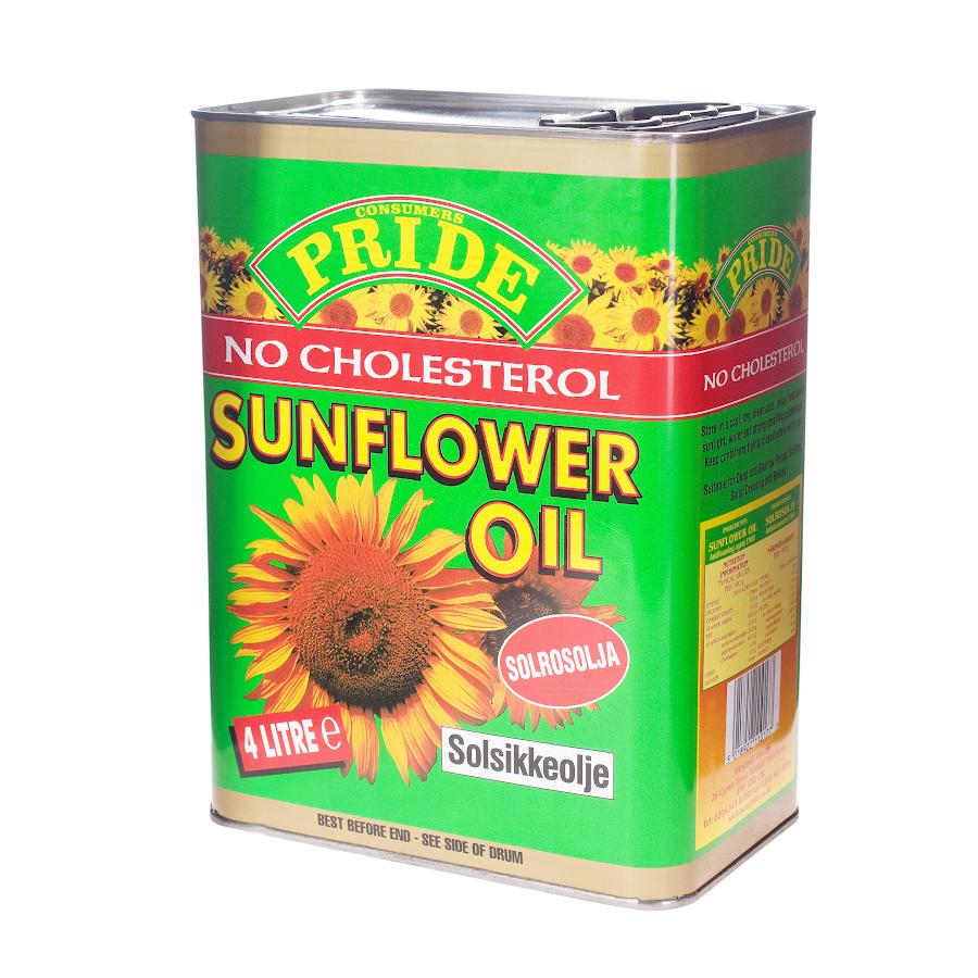 Pride Sunflower Oil 4L