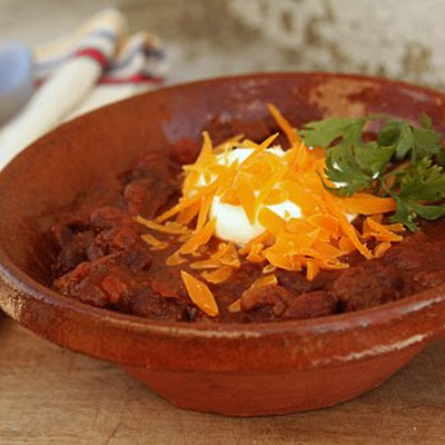 Chili with Chocolate