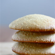 Big Soft Sesame Cookies