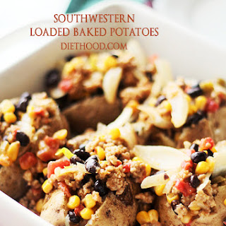 Southwestern Loaded Baked Potatoes