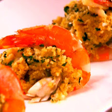 Jalapeno and Crab Stuffed Shrimp