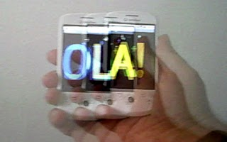 Screenshot of Banner Ola!