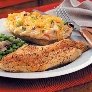 Cajun Baked Catfish