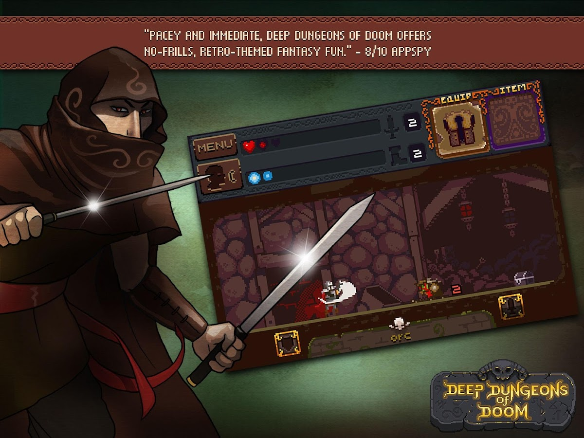 Deep Dungeons of Doom Screenshot 6