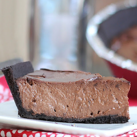 Chocolate Greek Yogurt Pie