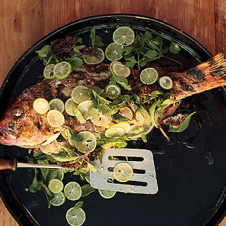 Grilled Fish Garnishes Recipes
