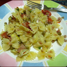 Bow Ties or Farfalline With Tuna and Artichoke Hearts