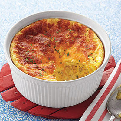 Cheddar-and-Corn Spoon Bread