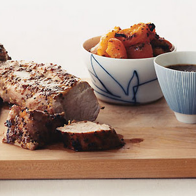 Pork Tenderloin with Apricot Mustard