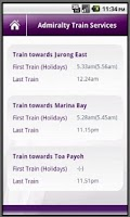 Screenshot of Singapore MRT Info