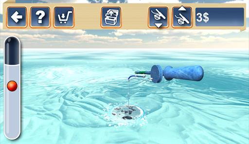 Fishing in the Winter. Lakes. - screenshot
