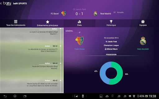 bein-sports for android s