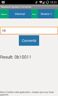Easy Numeral System Converter - screenshot