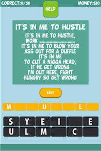 Juicy J - Lyrics Quiz - screenshot