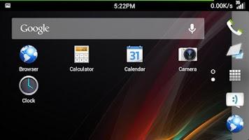 Screenshot of 360 Launcher Sony HD Theme
