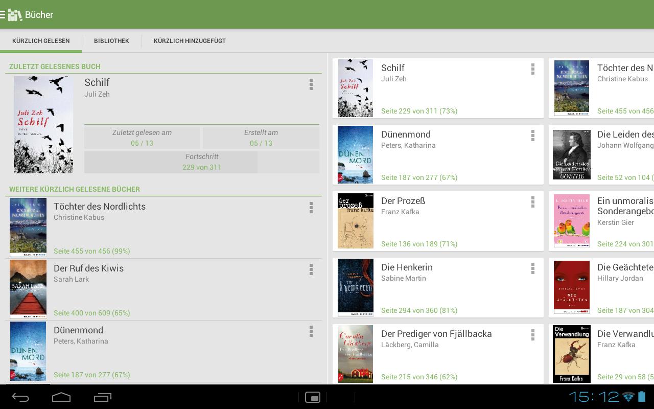 Aldiko Book Reader – Screenshot