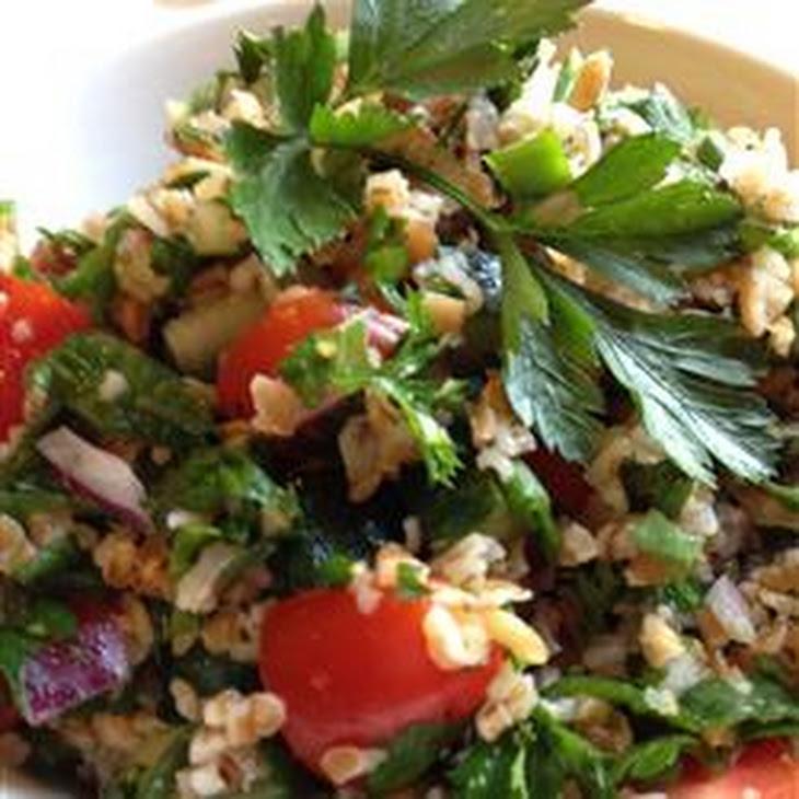Veggie Bulgur Salad (Kisir)