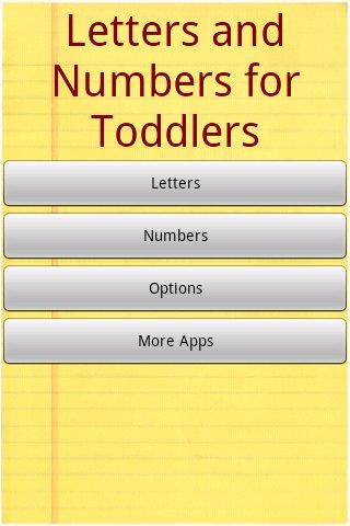 Alphabet for Toddlers Free