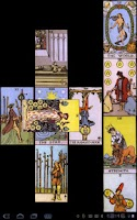 Screenshot of TarotBot Android tarot reader