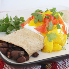 Black Bean Mango Burritos