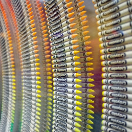 Crayola Crayons by Jim Keeling - Artistic Objects Toys