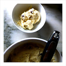 Roasted Banana Chocolate Chip Ice Cream