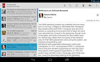 Screenshot of Kaiten Mail